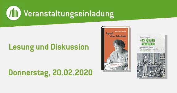 """Adelheid Popps """"Jugendgeschichte einer Arbeiterin"""""""